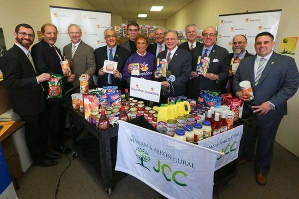 Elected officials and local rabbis on Thursday, April