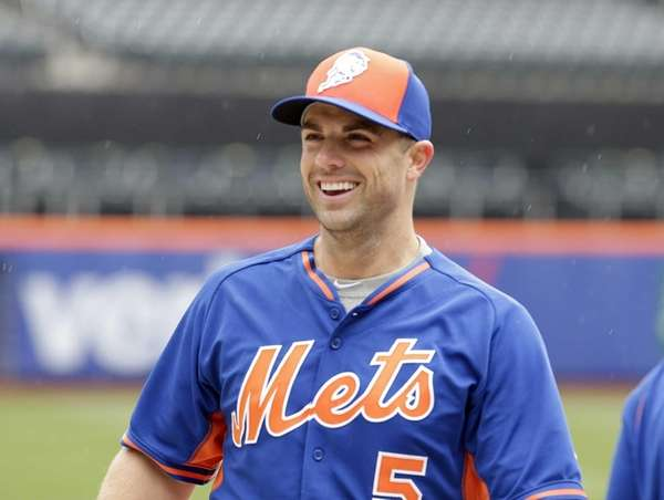 New York Mets third baseman David Wright, No.