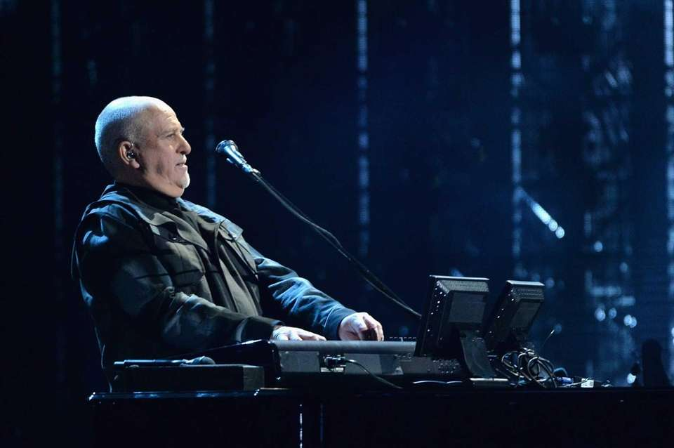 Peter Gabriel was inducted twice: first with Genesis