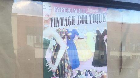 Paper Doll Vintage Boutique's second location is set