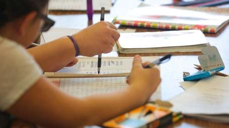Sixth-grade students who opted out of the ELA