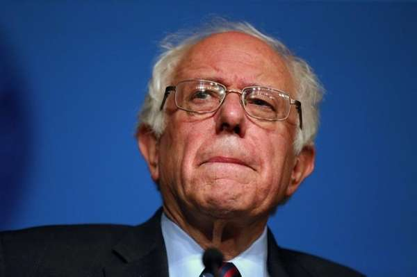 Democratic presidential candidate Sen. Bernie Sanders of Vermont