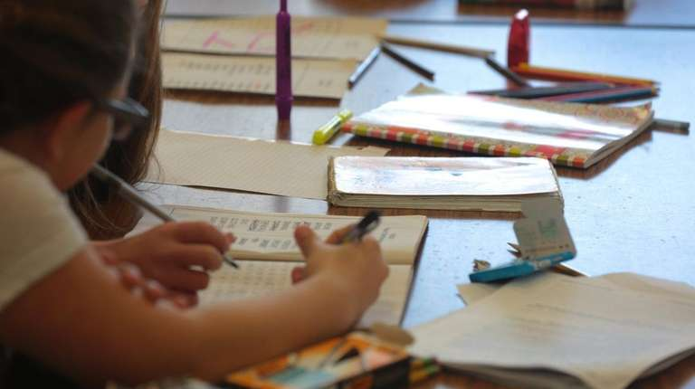 Sixth-graders who opted out of the state English