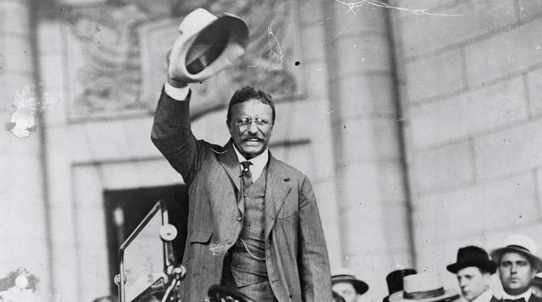 In 1904, Repubican Theodore Roosevelt ran against Democrat