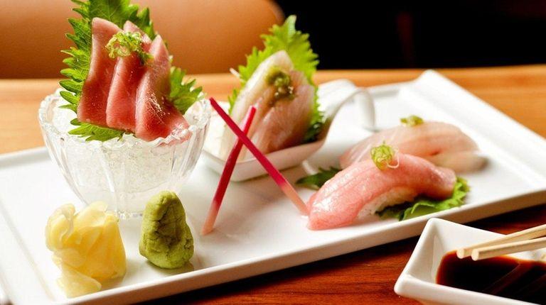 Aiko Asian Bistro in Melville, where fatty tuna