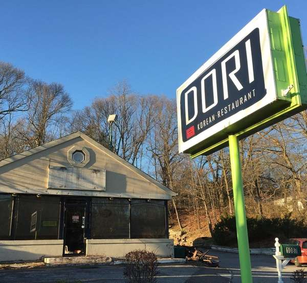 The Korean restaurant New Dori has closed in
