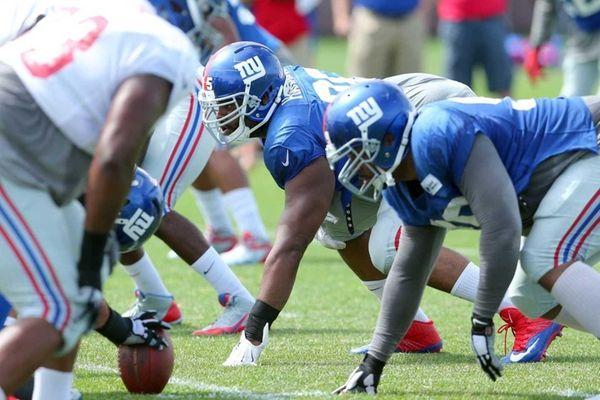 New York Giants defensive tackle Johnathan Hankins