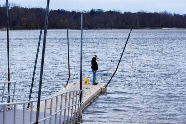 There's fishing in Lake Ronkonkoma, Long Island's largest
