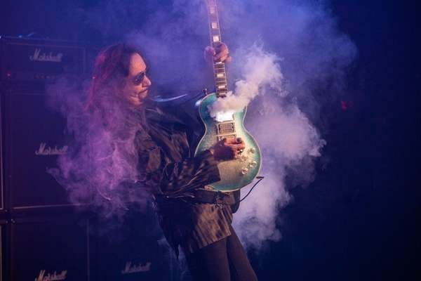Ace Frehley, the former Kiss guitarist, has recorded