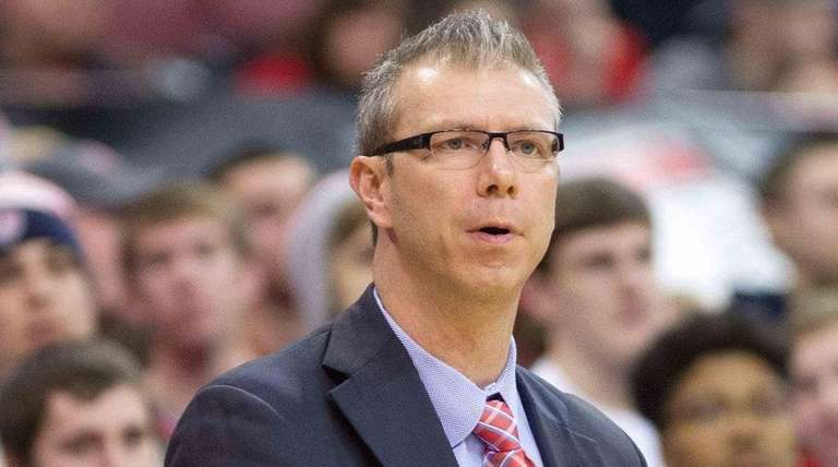 Ohio State Buckeyes assistant coach Jeff Boals looks