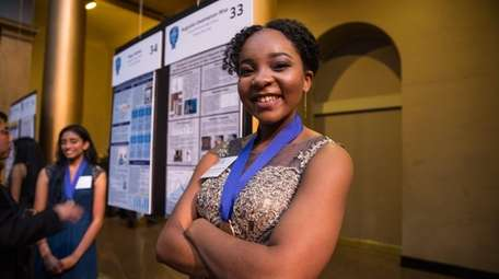 Intel Science Talent Search Finalist Augusta Uwamanzu-Nna of