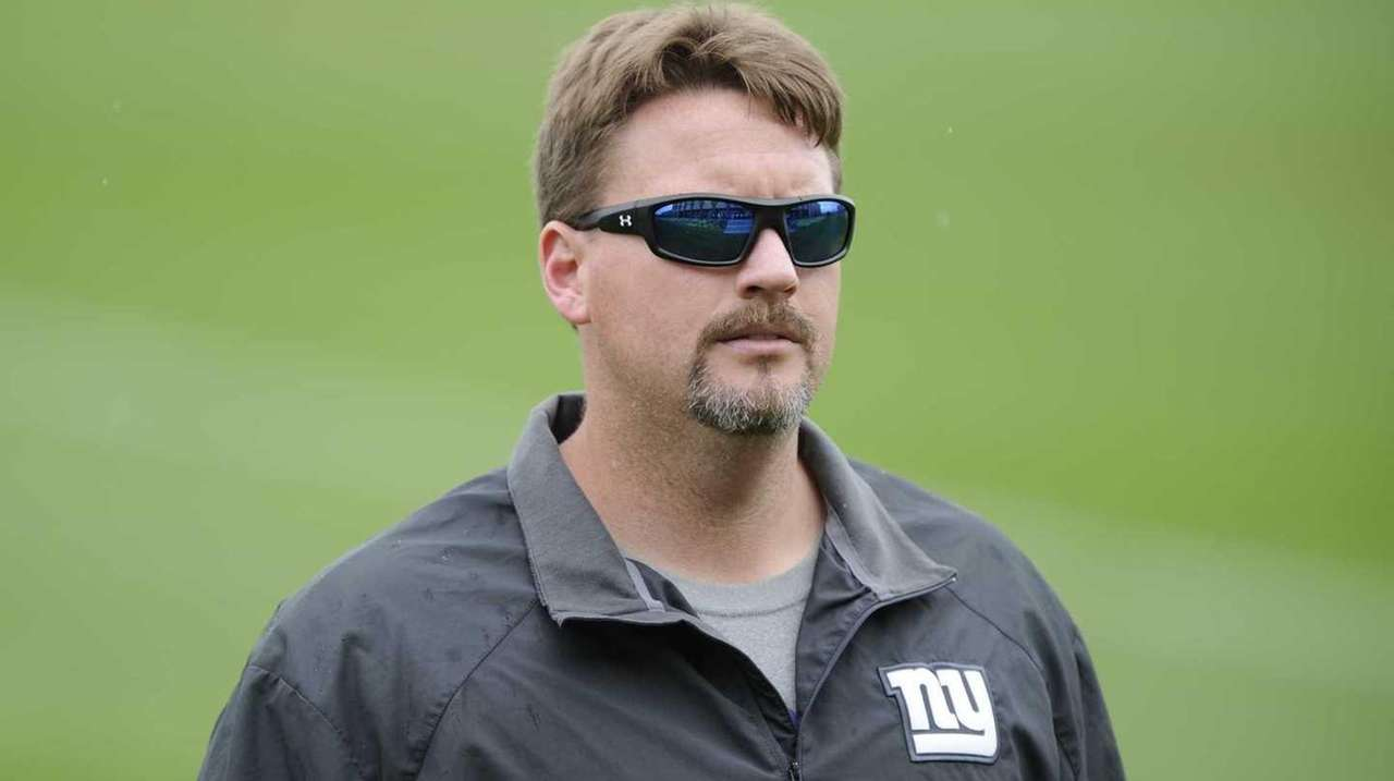 New York Giants offensive coordinator Ben McAdoo