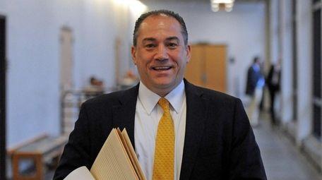 Criminal attorney and former Suffolk prosecutor Robert Macedonio,