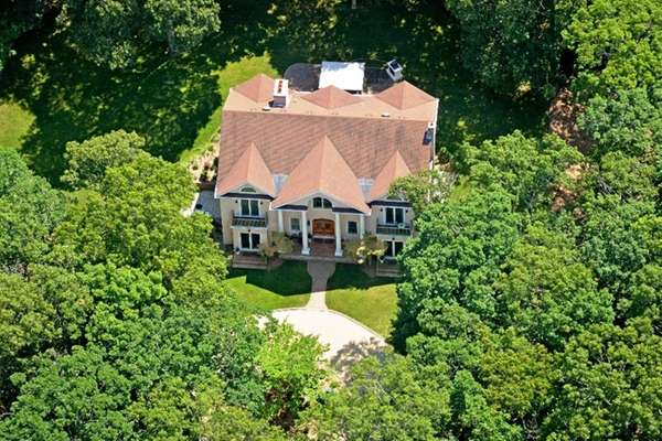 A five-bedroom North Fork home with a 3,200-bottle