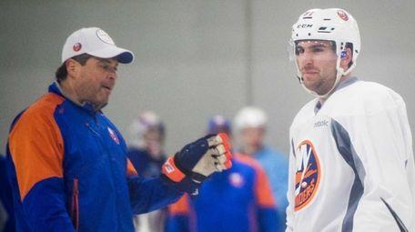 New York Islanders head coach Jack Capuano speaks