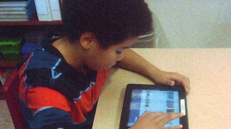 Kidsday reporter Josiah Youmans of Sayville Academic Center.