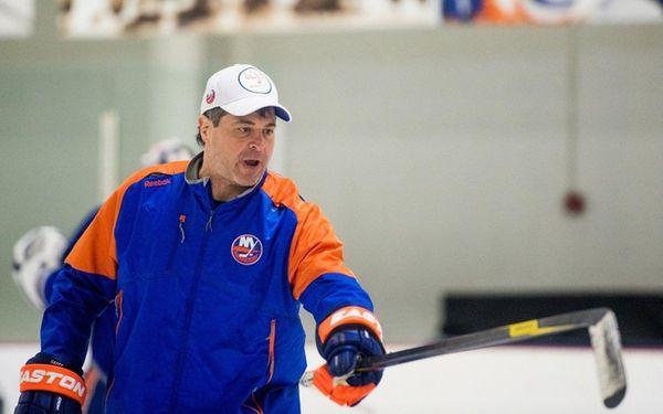 New York Islanders head coach Jack Capuano
