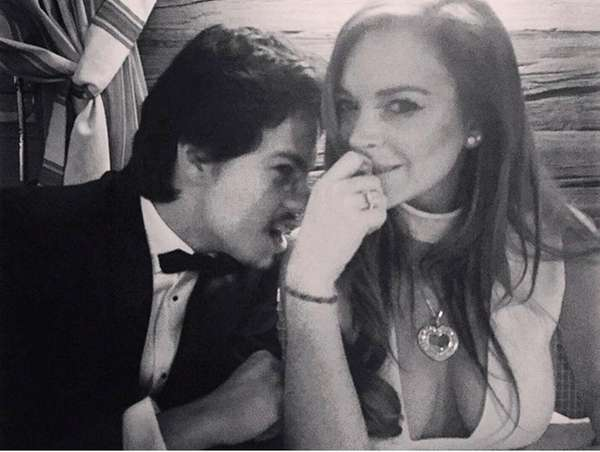Lindsay Lohan is not engaged to 22-year-old Russian