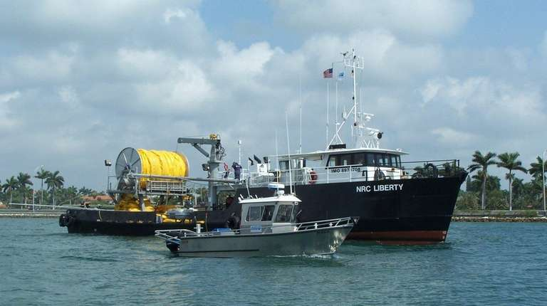 The NRC Liberty, berthed in Miami, is among