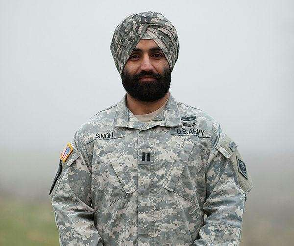 This photo provided by the Sikh Coalition shows