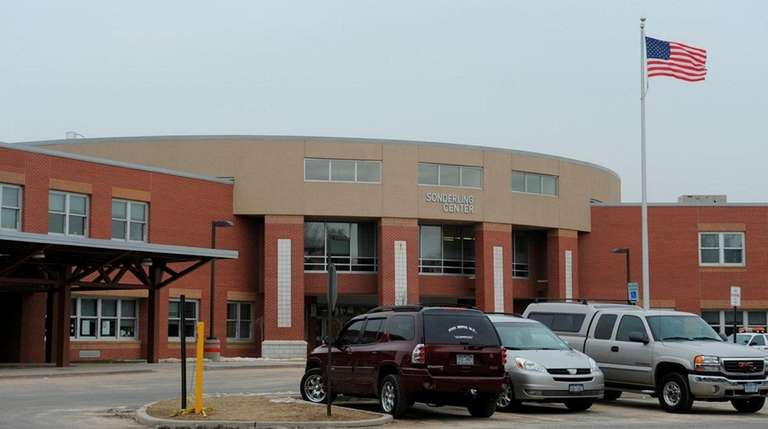 The Brentwood School District's Sonderling Center, seen on