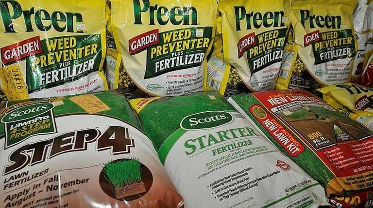 Some fertilizers would be removed from shelves if