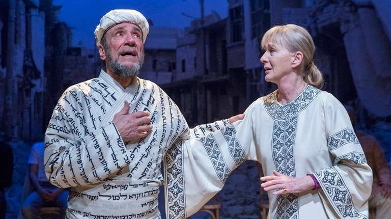 F. Murray Abraham and Caroline Lagerfelt in