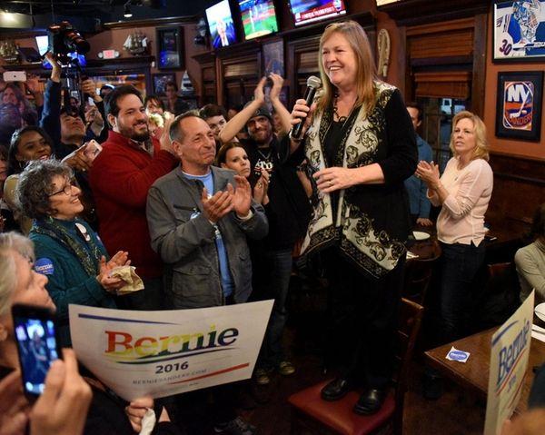 Jane Sanders, wife of presidential candidate Bernie Sanders,
