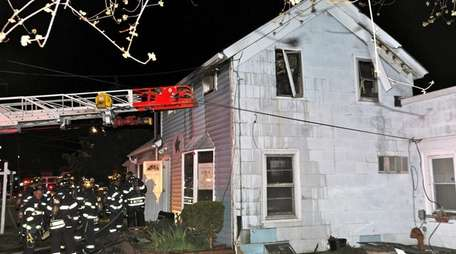 Two residents sustained smoke inhalation in a house