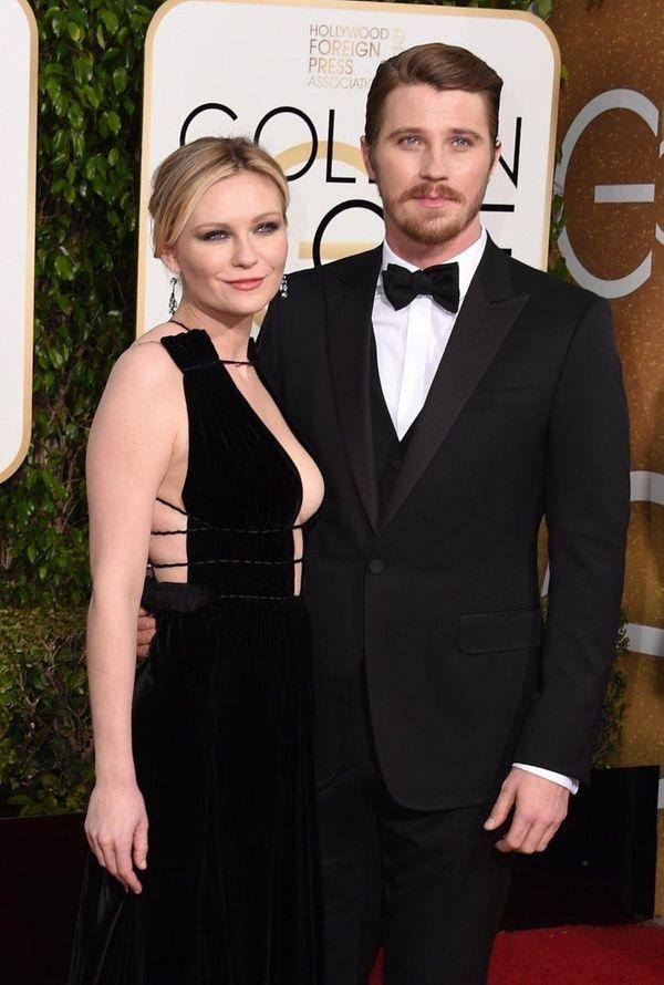 Kirsten Dunst and Garrett Hedlund arrive at the