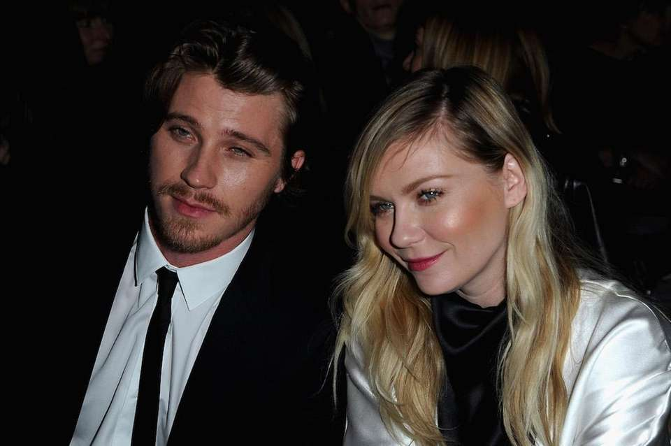Actress Kirsten Dunst and boyfriend, actor Garrett Hedlund,