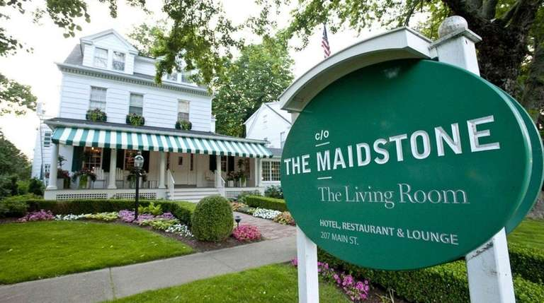 The Living Room restaurant at The Maidstone Hotel,