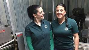 Sisters Lorian Prince, left, and Camille Pabon own