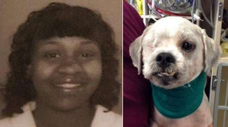 Suffolk County SPCA officers charged Lateesha Boston, 32,