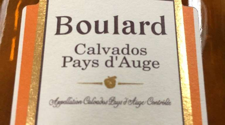 Boulard Calvados Pays d'Auge VSOP, from Normandy, can