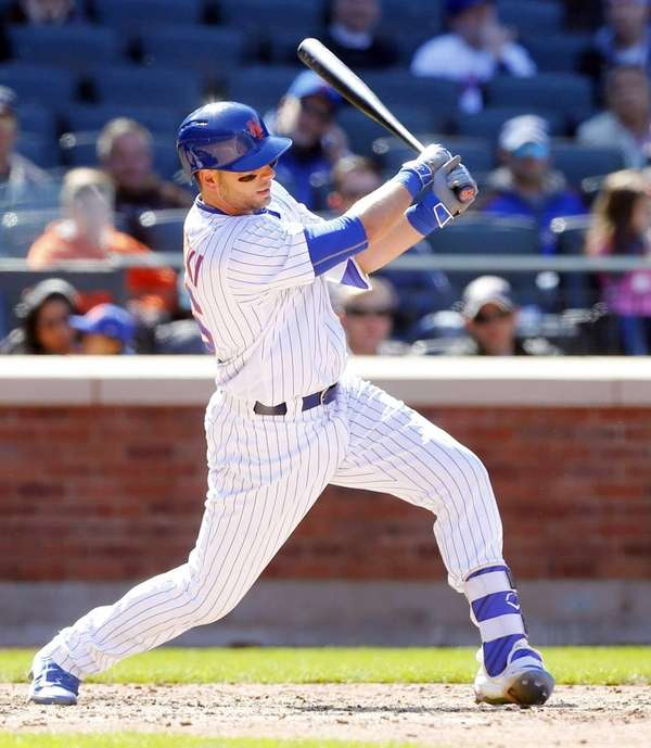 Kevin Plawecki #26 of the New York Mets