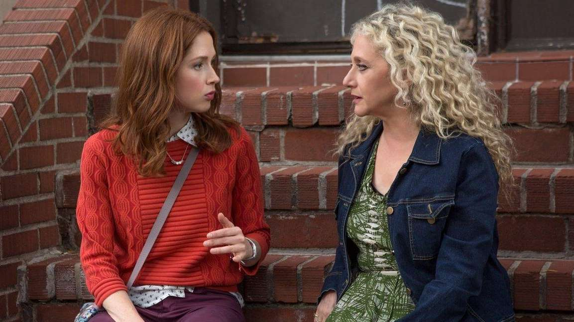 Ellie Kemper and Carol Kane in a Season