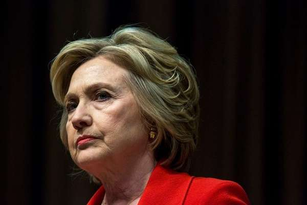 Former Secretary of State Hillary Clinton leads a