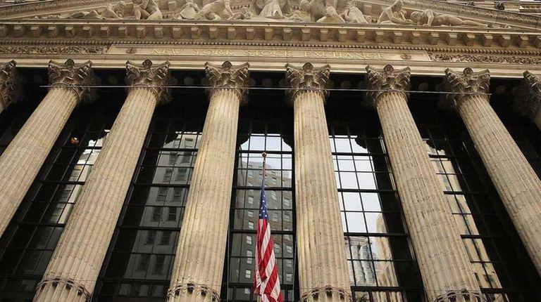 The New York Stock Exchange on May