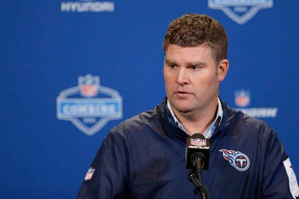 Tennessee Titans general manager Jon Robinson traded the