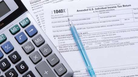 Keep grinding at those tax forms, even though