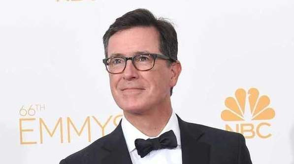 Stephen Colbert at the 66th annual Primetime Emmy