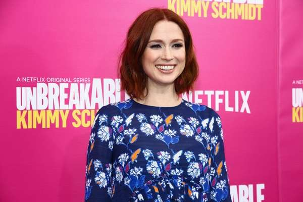 Ellie Kemper told Jimmy Fallon she is pregnant
