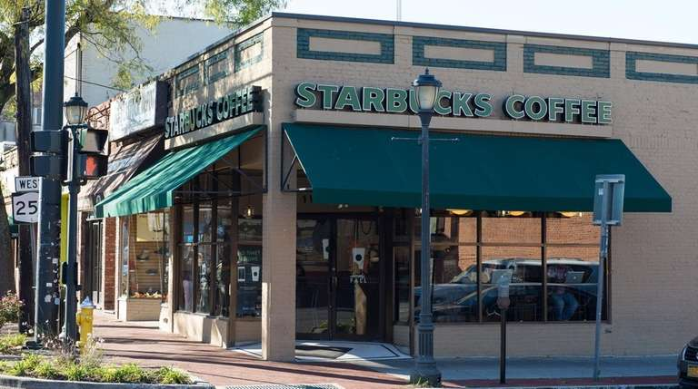 The Starbucks in Huntington is among the first