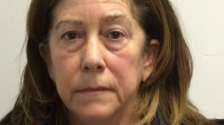 Linda Scialo, 57, of Port Washington was arrested
