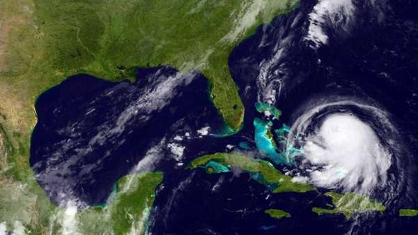 IHurricane Joaquin churns in the Caribbean on Sept.
