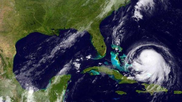 IHurricane Joaquin churns in the Caribbean on Sept.