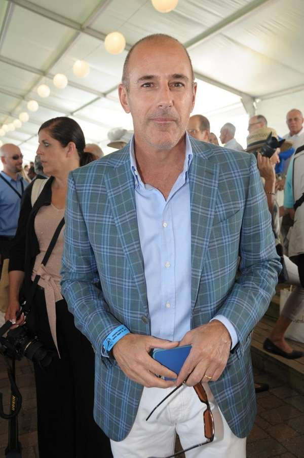 Matt Lauer is pictured in a file photo