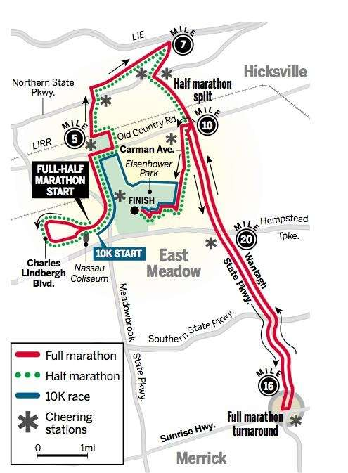 The Long Island Marathon may start in Uniondale