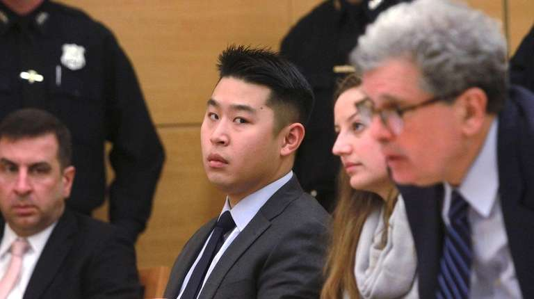 Former police officer Peter Liang with his legal